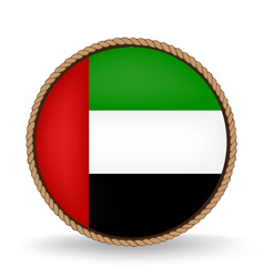 United arab emirates seal vector