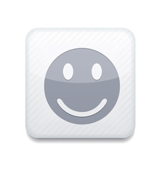 White smile icon eps10 easy to edit vector