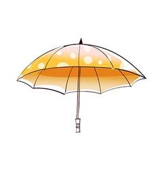 A view of umbrella vector