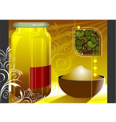 grain and cereal product vector image