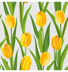 Spring flower background - seamless pattern vector
