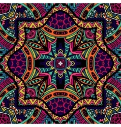 Abstract tribal vintage ethnic pattern ornamental vector