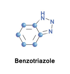 Benzotriazole heterocyclic compound vector