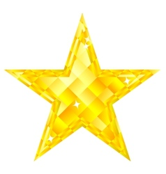 Diamond Star vector image