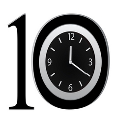 watch on figure 10 vector image