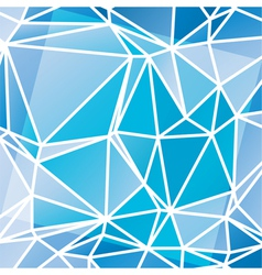 abstract triangular mosaic pattern vector image