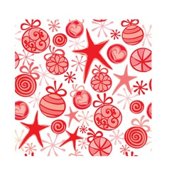 Christmas wrapping vector