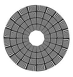 Abstract circle design vector