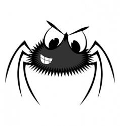 Cartoon spider vector