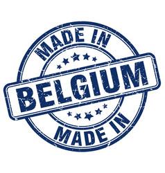 Made in belgium vector