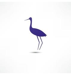 Stork Icon vector image