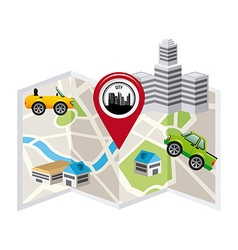 Gps concept design vector