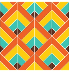Bohemian colorful pattern background vector