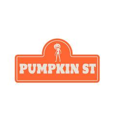 House halloween nameplate vector
