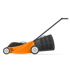 Lawn mower 01 vector