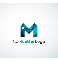 Letter company logo vector image