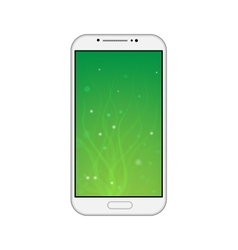 Smartphone on white background vector