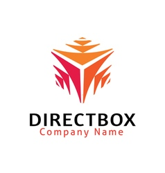 Direct box design vector
