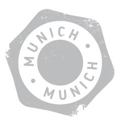 Munich stamp rubber grunge vector