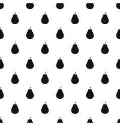 Pear pattern simple style vector image vector image