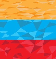 Textured flag vector