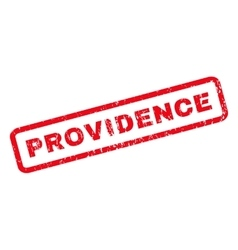 Providence rubber stamp vector