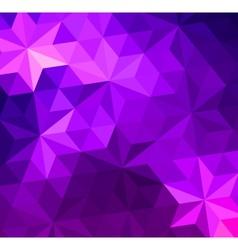 Retro triangle background vector image