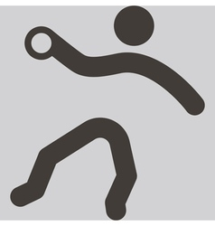Handball icon vector