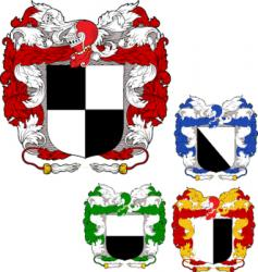 Shields emblems vector