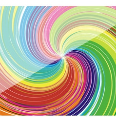 colorful swirl background vector image vector image