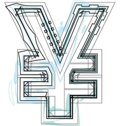Font symbol vector
