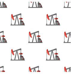 Oil pumpoil single icon in cartoon style vector