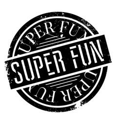 Super fun rubber stamp vector