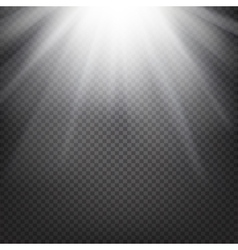 Shiny sunburst background vector