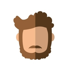 Man head icon person design graphic vector