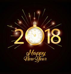 Happy new year design vector