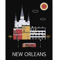 New orleans usa vector