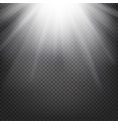 Shiny sunburst background vector image vector image