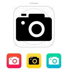 Slr camera icon vector