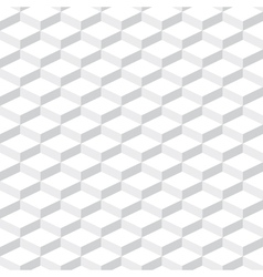 Cubes seamless pattern background vector