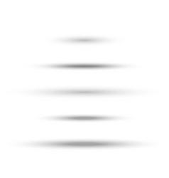 Oval soft shadow vector
