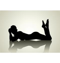 Sexy Pose vector image
