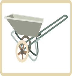 Cart mortar vector