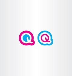 Q logo logotype icon letter q vector