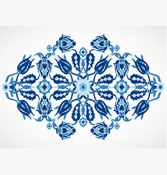 arabesque vintage damask floral decoration lace pr vector image vector image