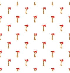 Axe pattern cartoon style vector image vector image