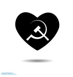 Heart icon symbol love valentine s day the vector