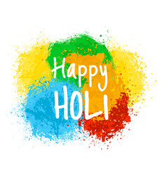 indian holiday holi vector image vector image