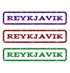 Reykjavik watermark stamp vector