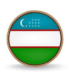 Uzbekistan seal vector